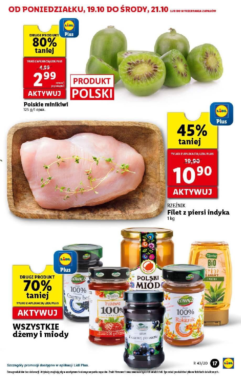 Gazetka promocyjna Lidl do 21/10/2020 str.17