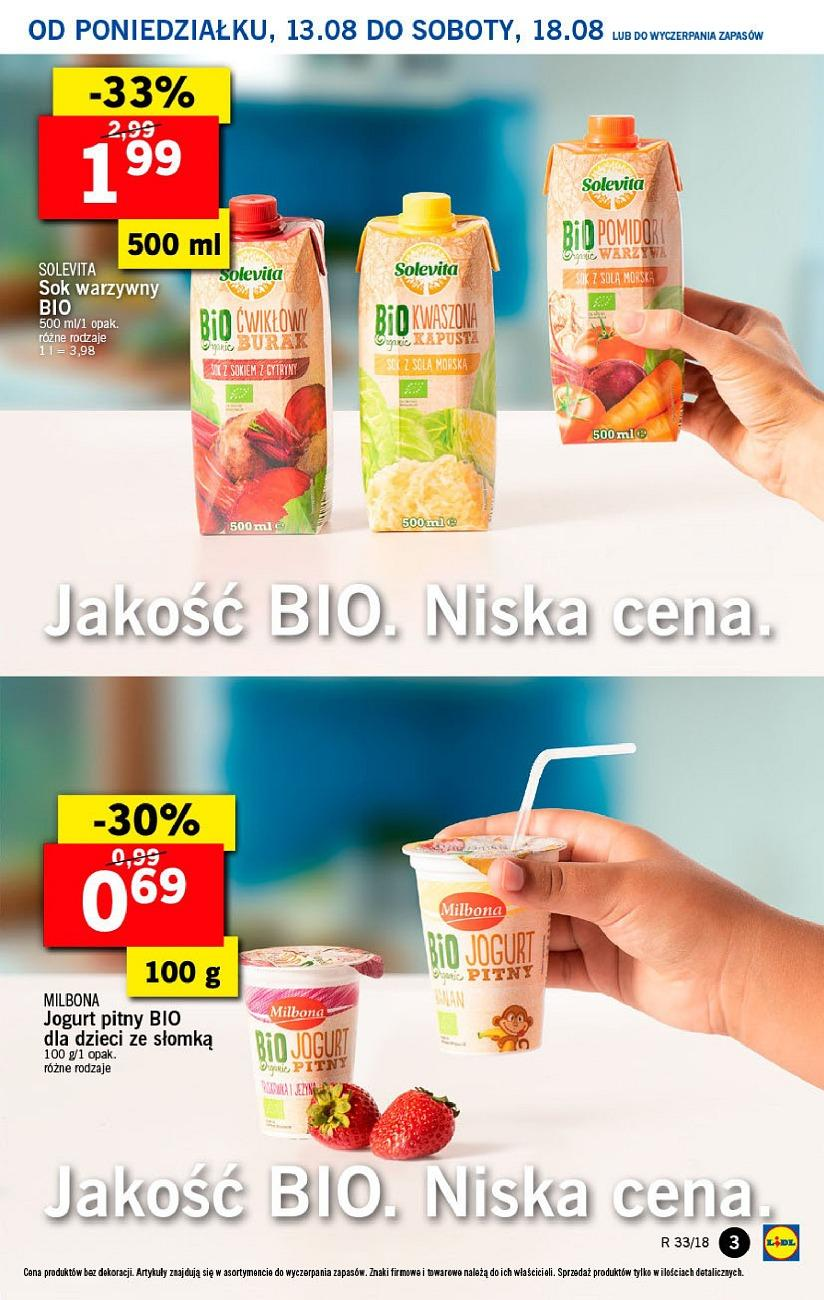 Gazetka promocyjna Lidl do 14/08/2018 str.3