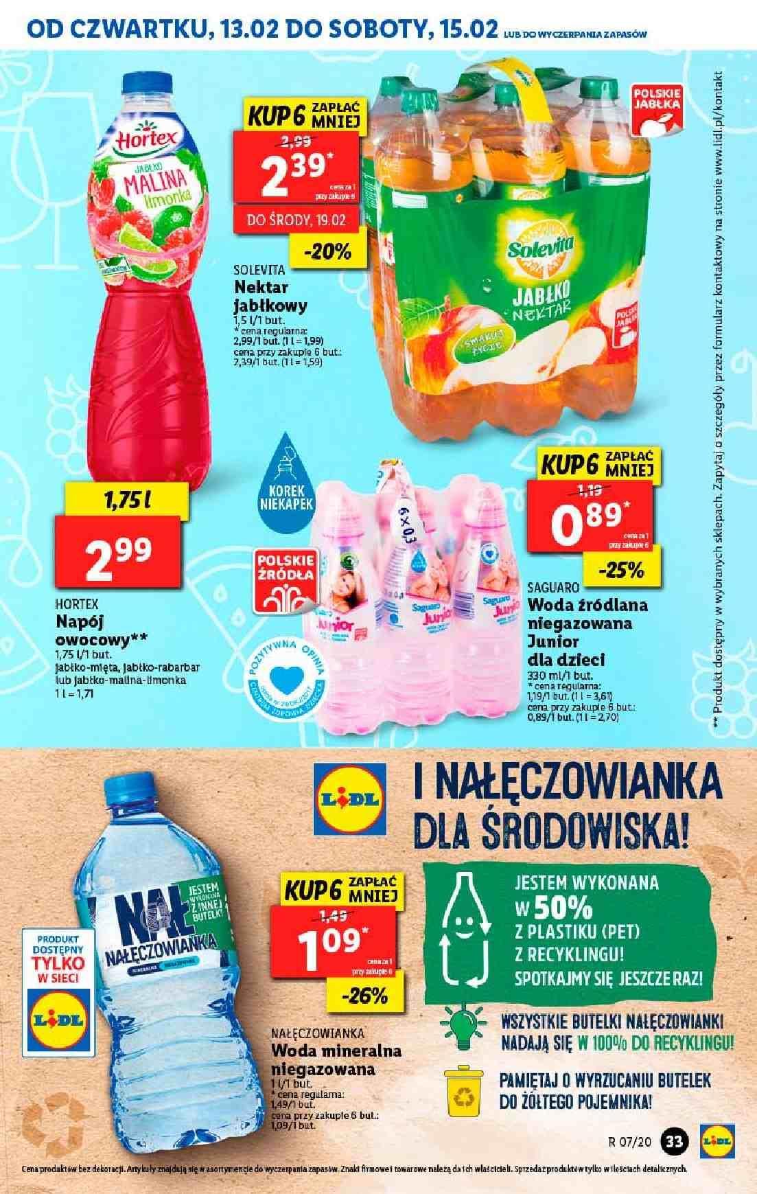 Gazetka promocyjna Lidl do 15/02/2020 str.33