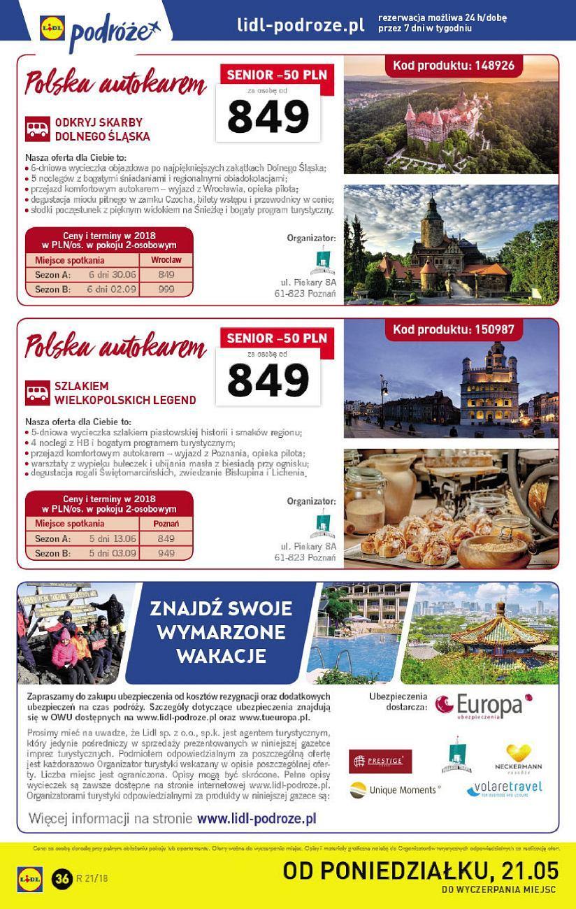 Gazetka promocyjna Lidl do 27/05/2018 str.35