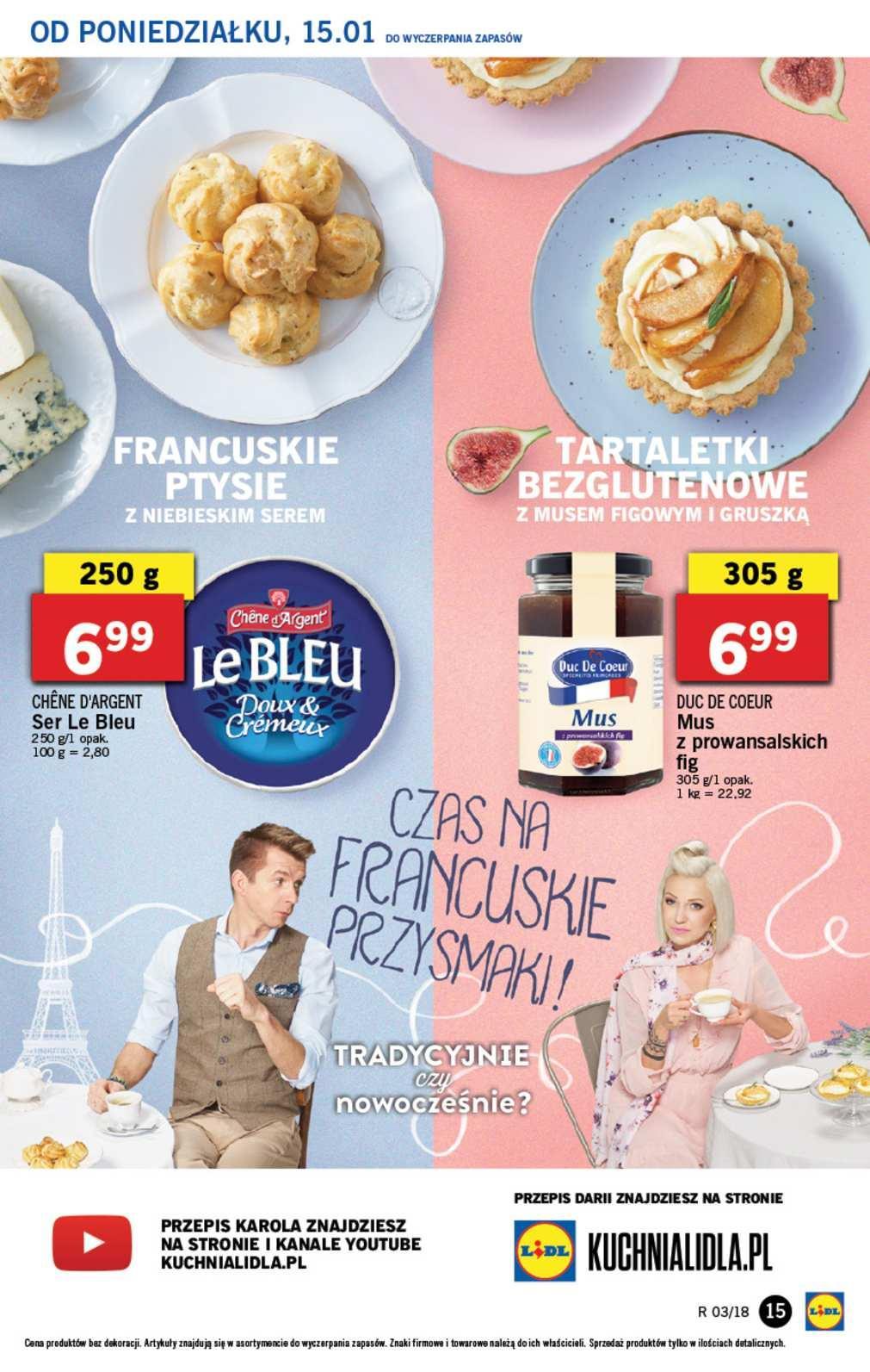 Gazetka promocyjna Lidl do 17/01/2018 str.14