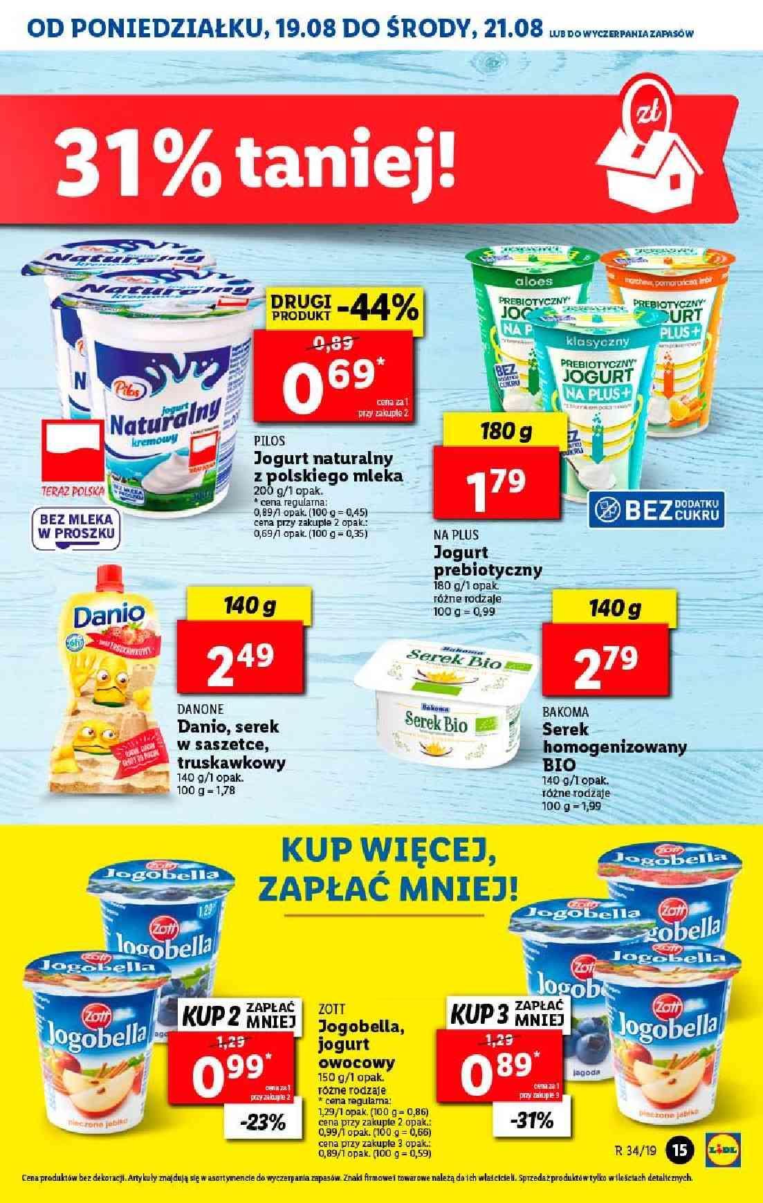 Gazetka promocyjna Lidl do 21/08/2019 str.15