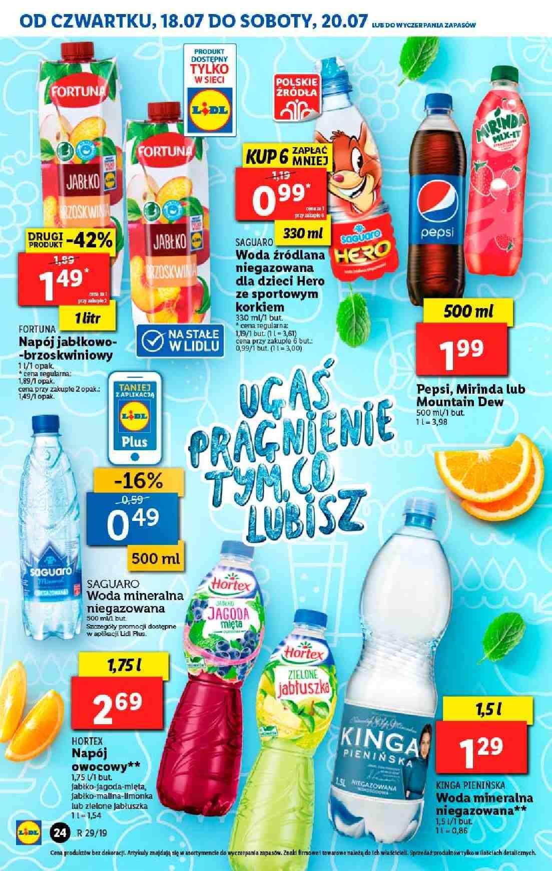 Gazetka promocyjna Lidl do 20/07/2019 str.24