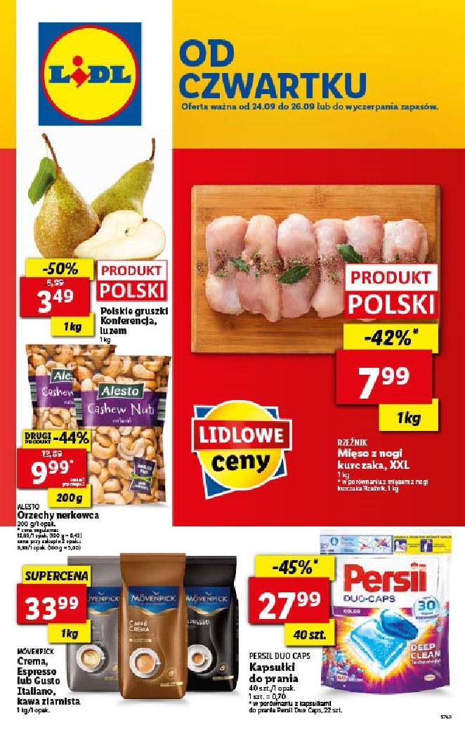 Gazetka promocyjna Lidl do 27/09/2020 str.1