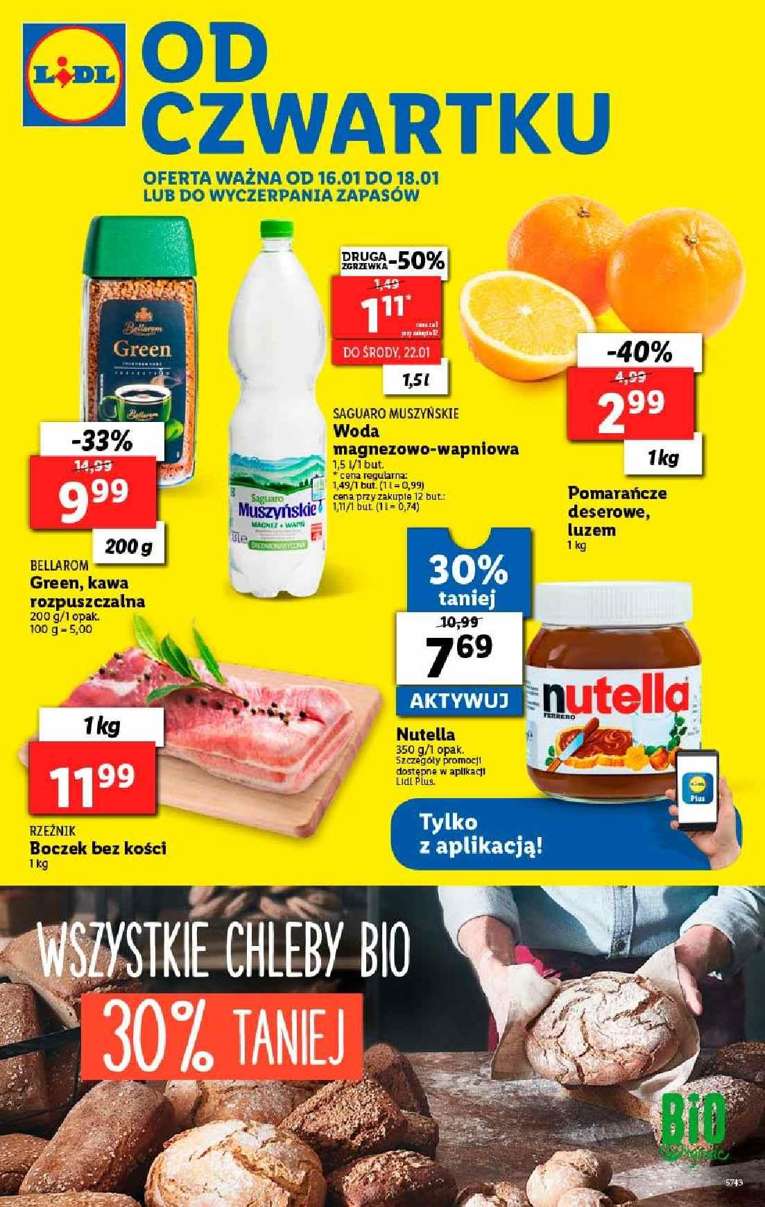 Gazetka promocyjna Lidl do 18/01/2020 str.1