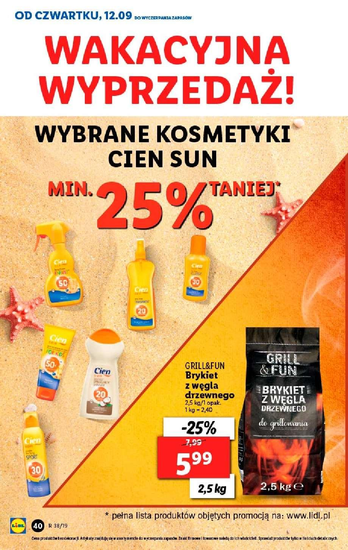 Gazetka promocyjna Lidl do 22/09/2019 str.39