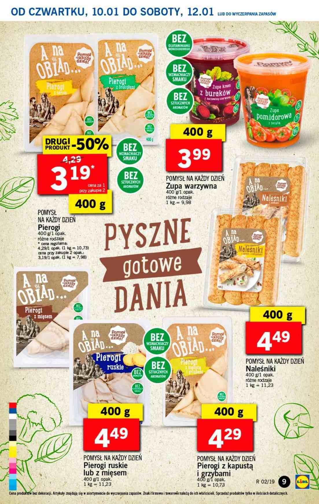 Gazetka promocyjna Lidl do 12/01/2019 str.9