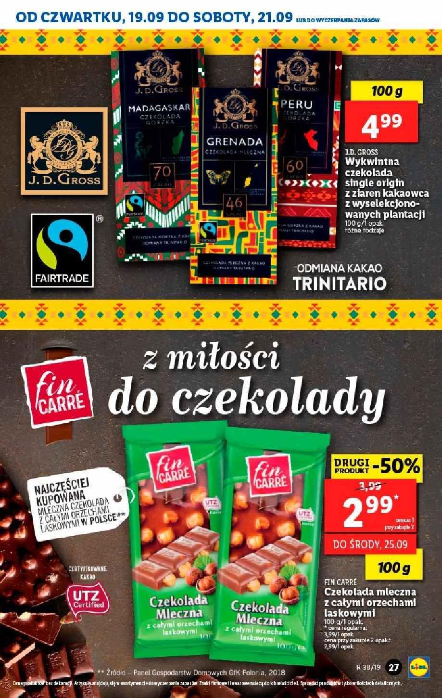 Gazetka promocyjna Lidl do 22/09/2019 str.26
