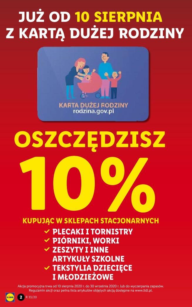 Gazetka promocyjna Lidl do 15/08/2020 str.2