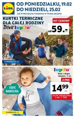 Lidl gazetka - od 19/02/2018 do 25/02/2018