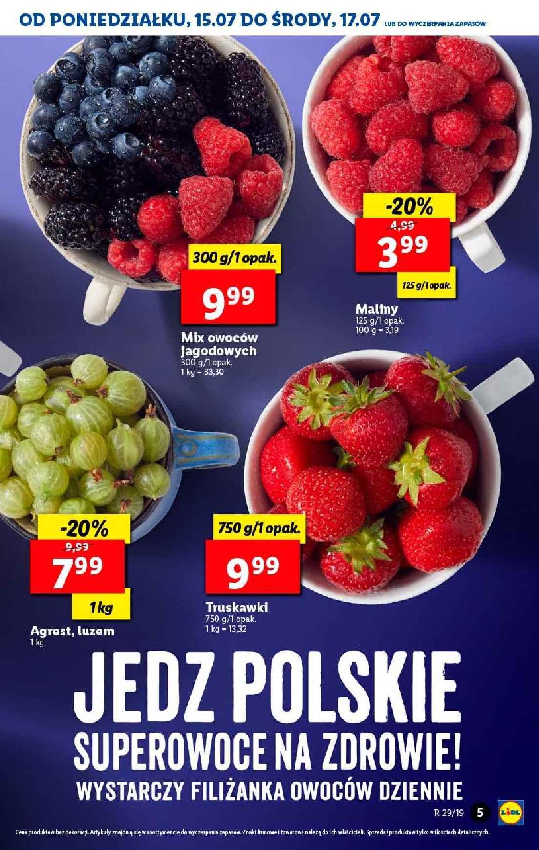 Gazetka promocyjna Lidl do 20/07/2019 str.5