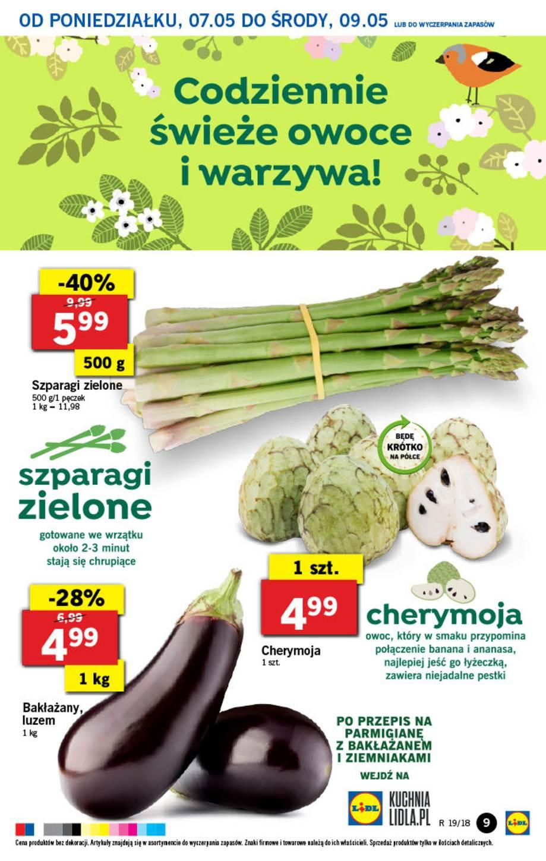 Gazetka promocyjna Lidl do 09/05/2018 str.8