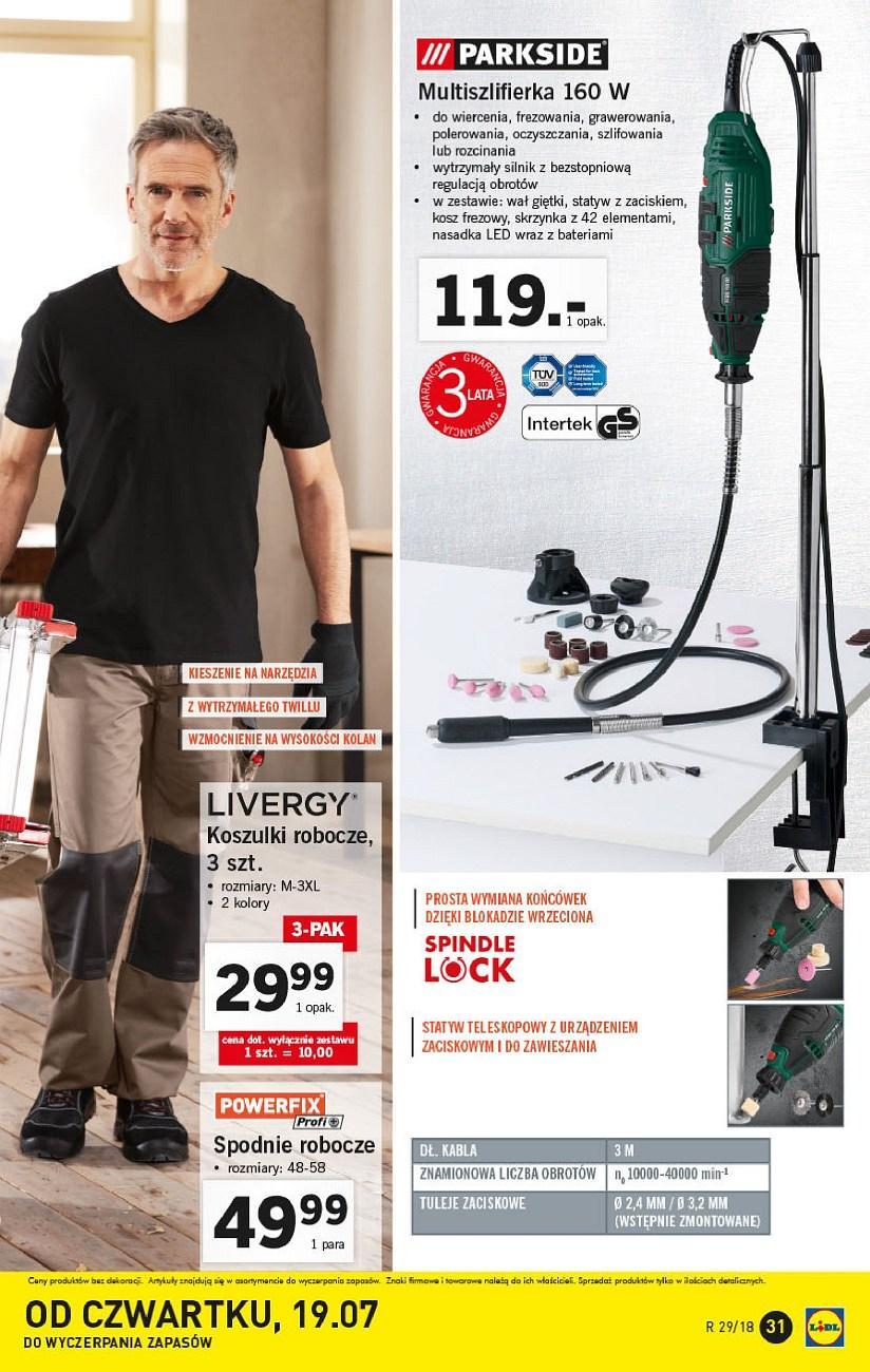 Gazetka promocyjna Lidl do 21/07/2018 str.30