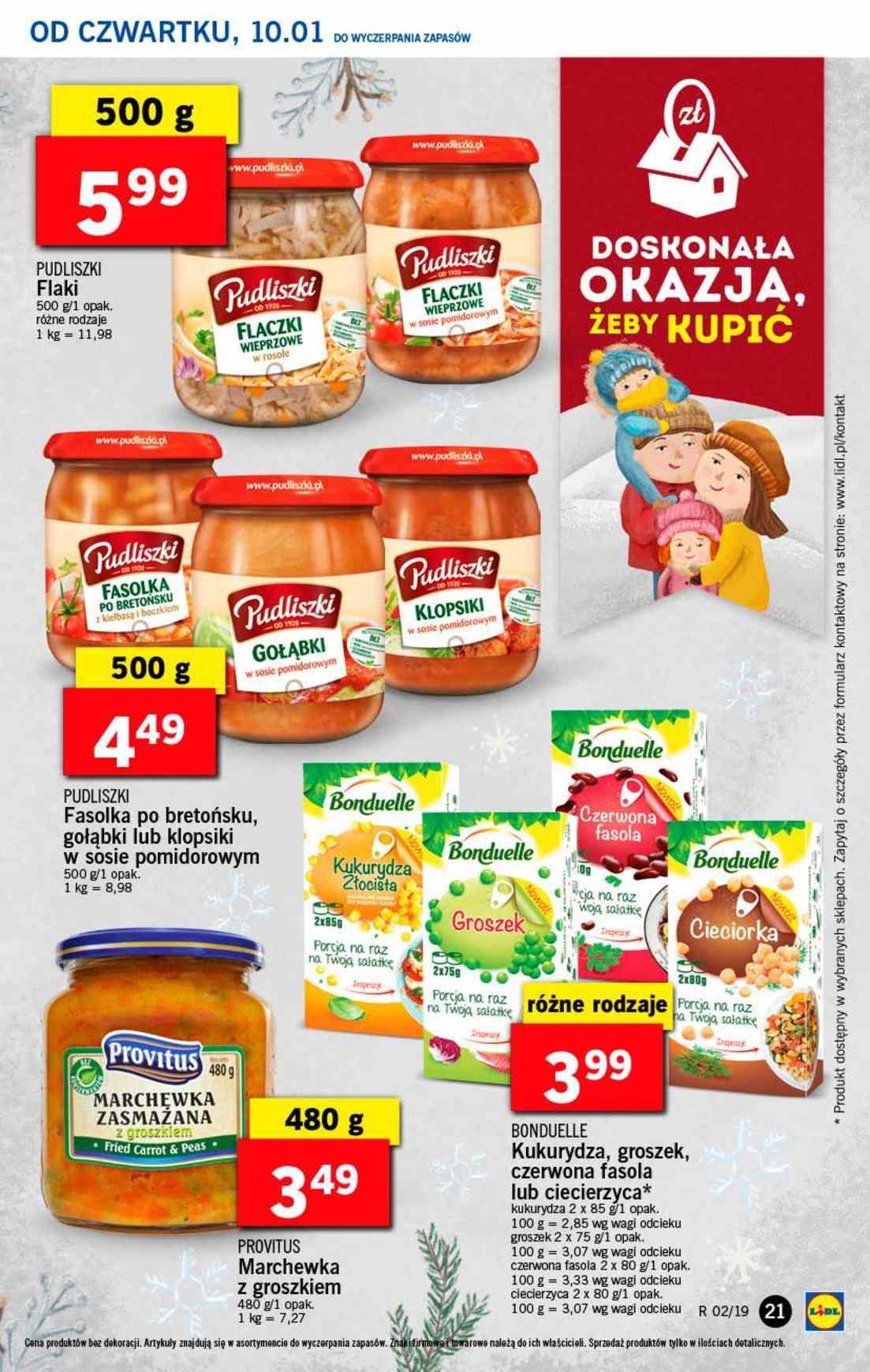 Gazetka promocyjna Lidl do 12/01/2019 str.21