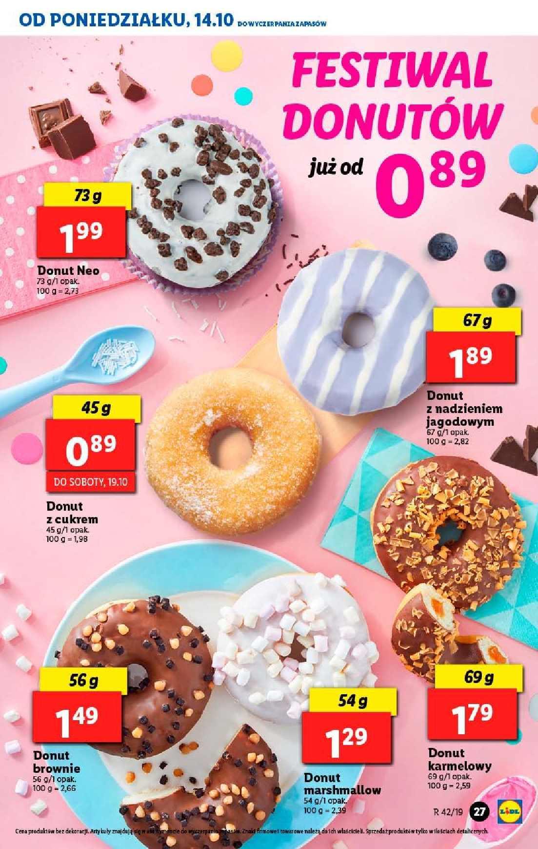 Gazetka promocyjna Lidl do 16/10/2019 str.27