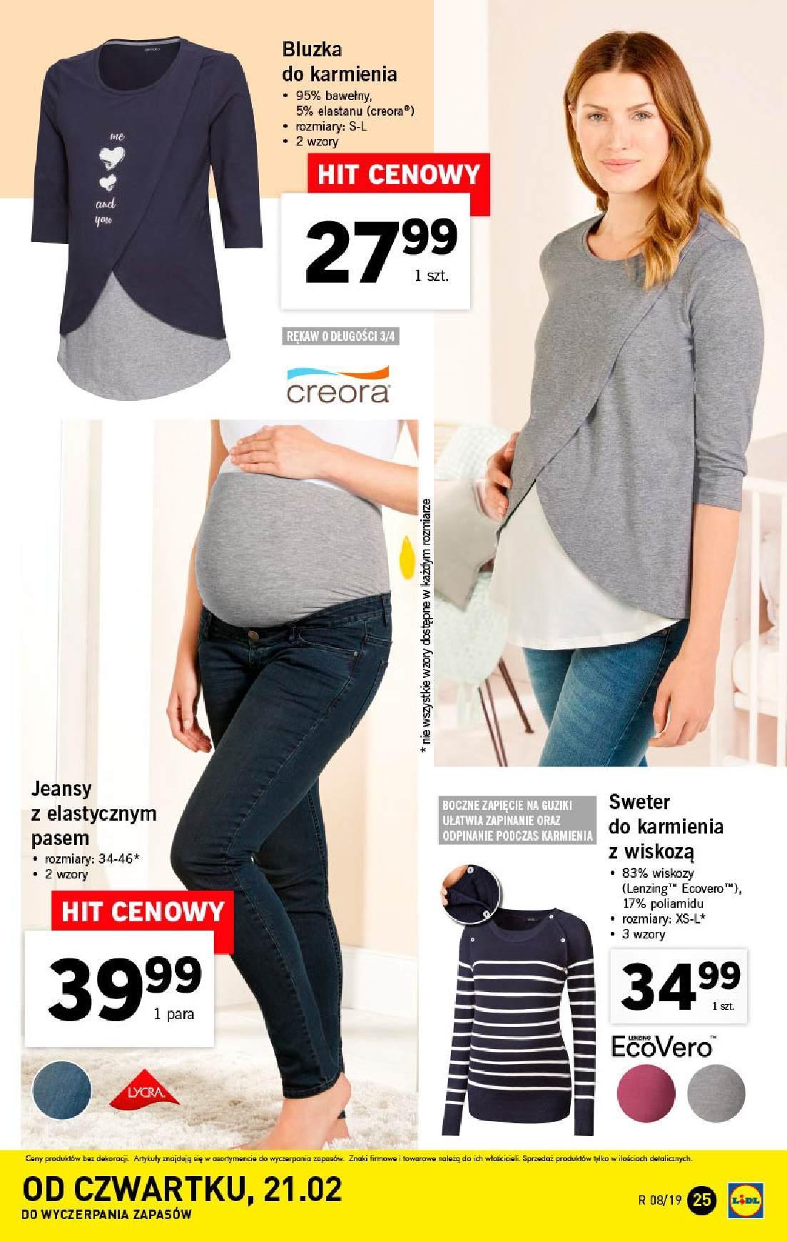 Gazetka promocyjna Lidl do 24/02/2019 str.25
