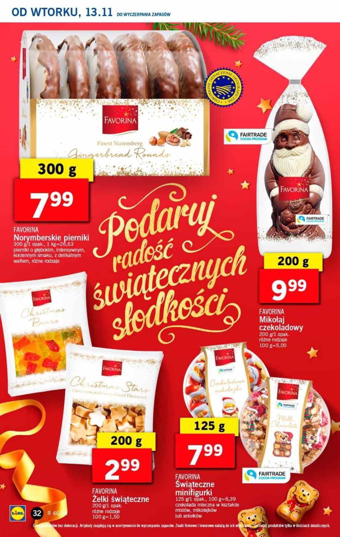 Gazetka promocyjna Lidl do 14/11/2018 str.32