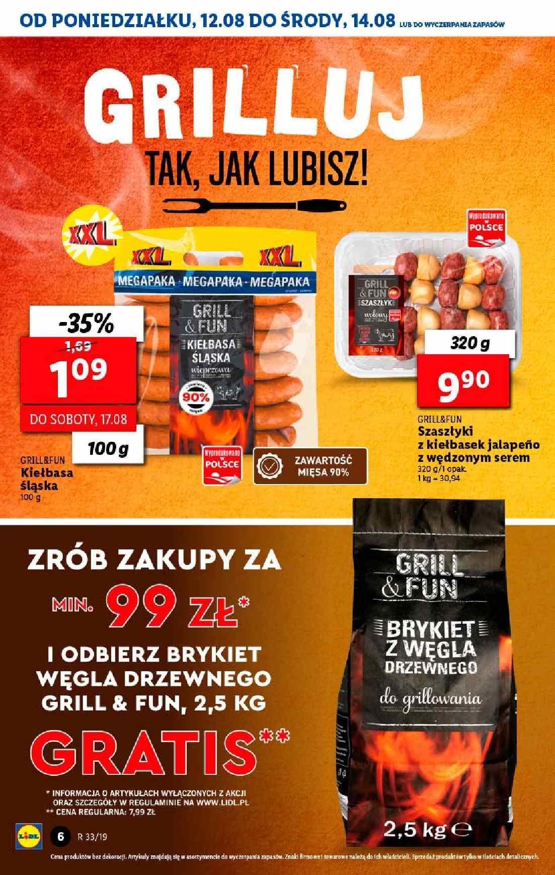 Gazetka promocyjna Lidl do 14/08/2019 str.6