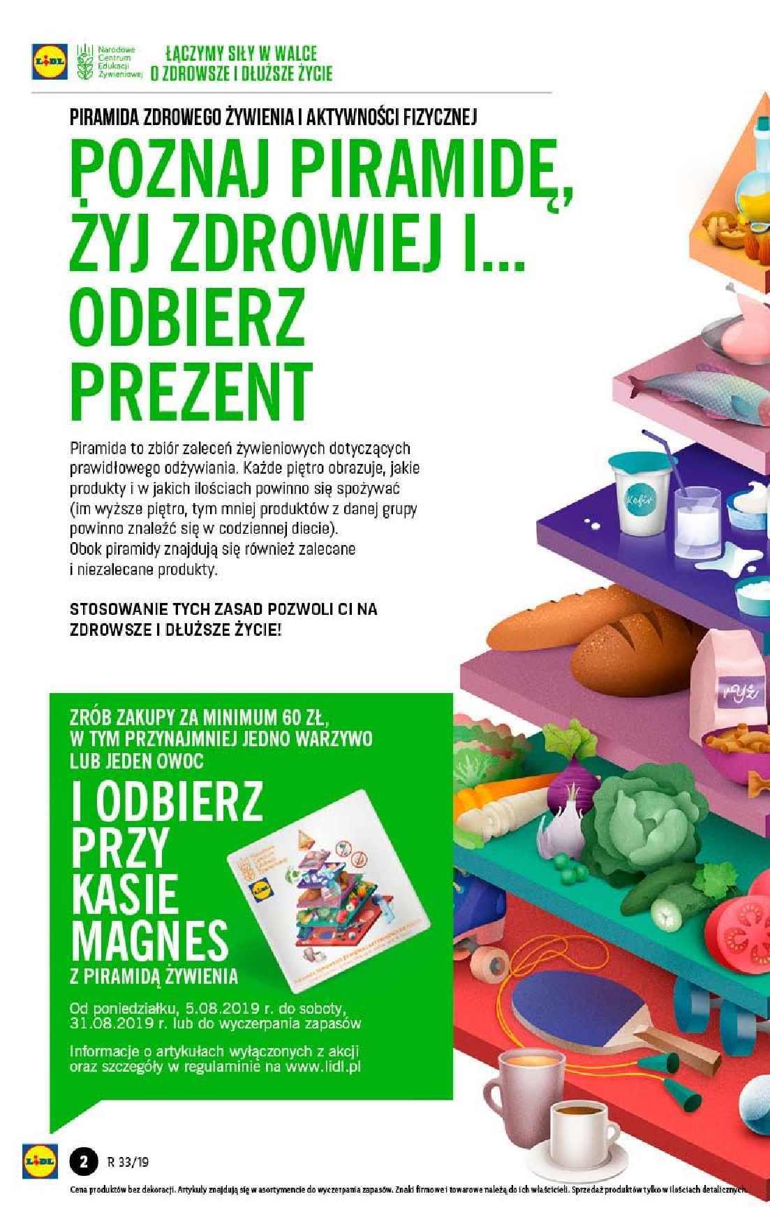 Gazetka promocyjna Lidl do 14/08/2019 str.2