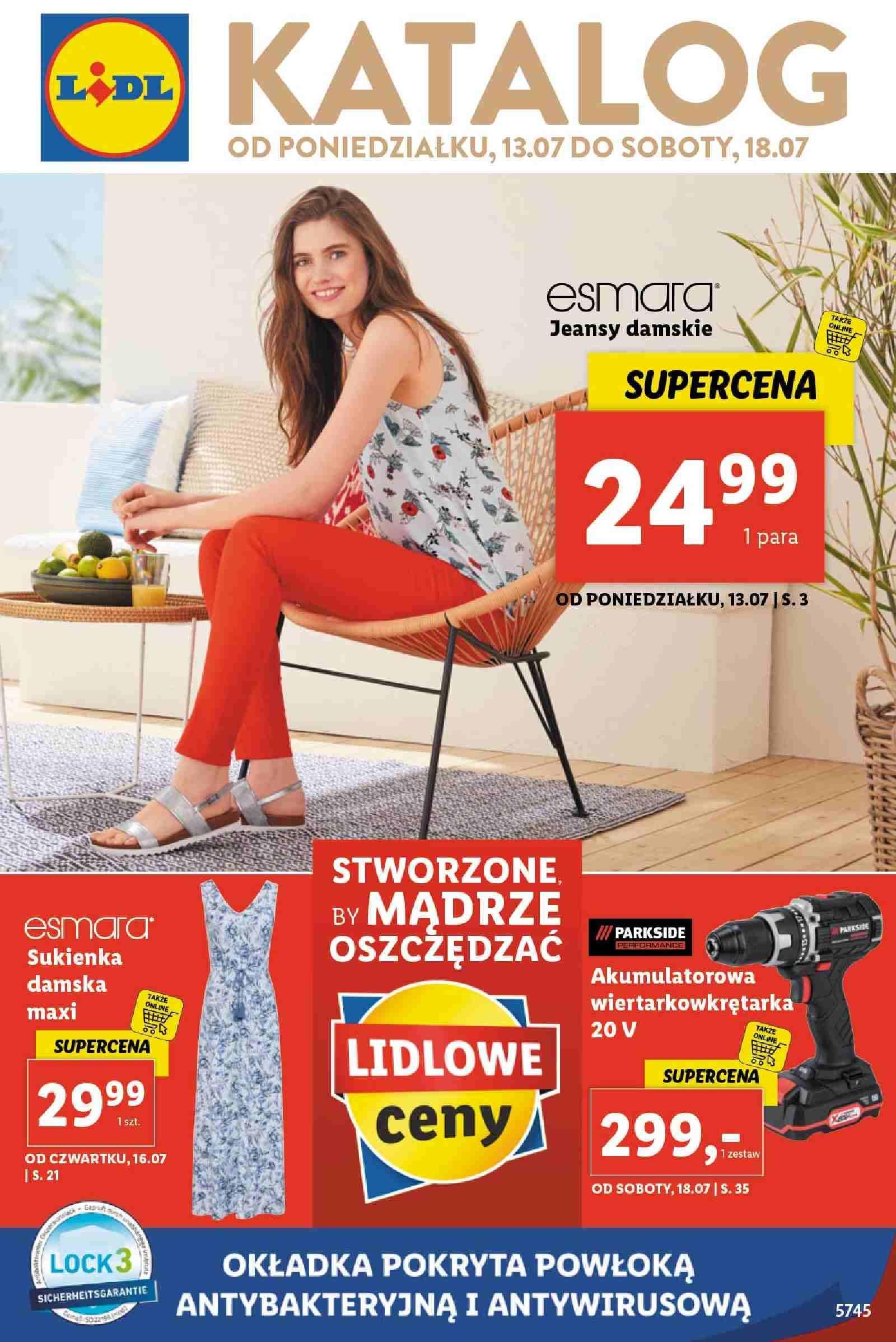 Gazetka promocyjna Lidl do 18/07/2020 str.1
