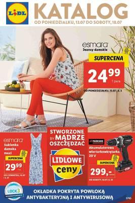 Lidl gazetka  - od 13/07/2020 do 18/07/2020