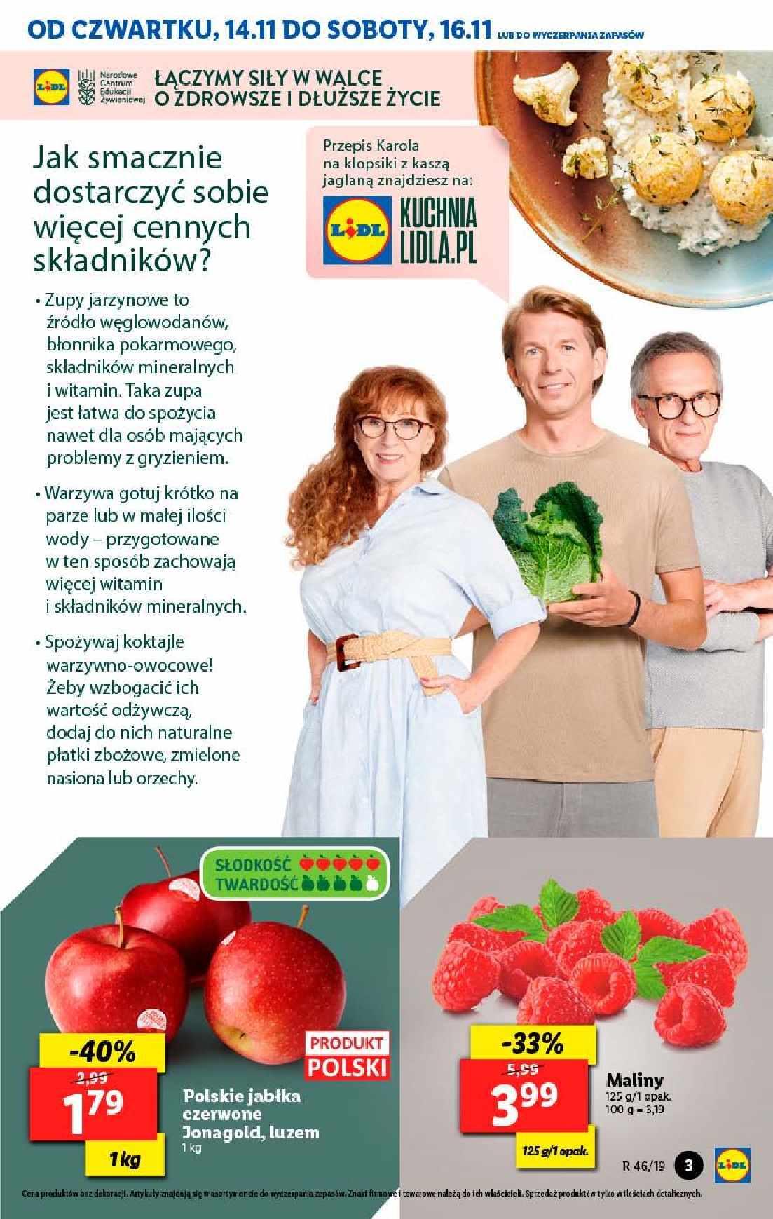 Gazetka promocyjna Lidl do 16/11/2019 str.3
