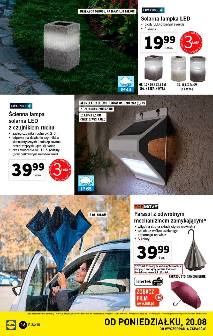 Gazetka promocyjna Lidl do 26/08/2018 str.15