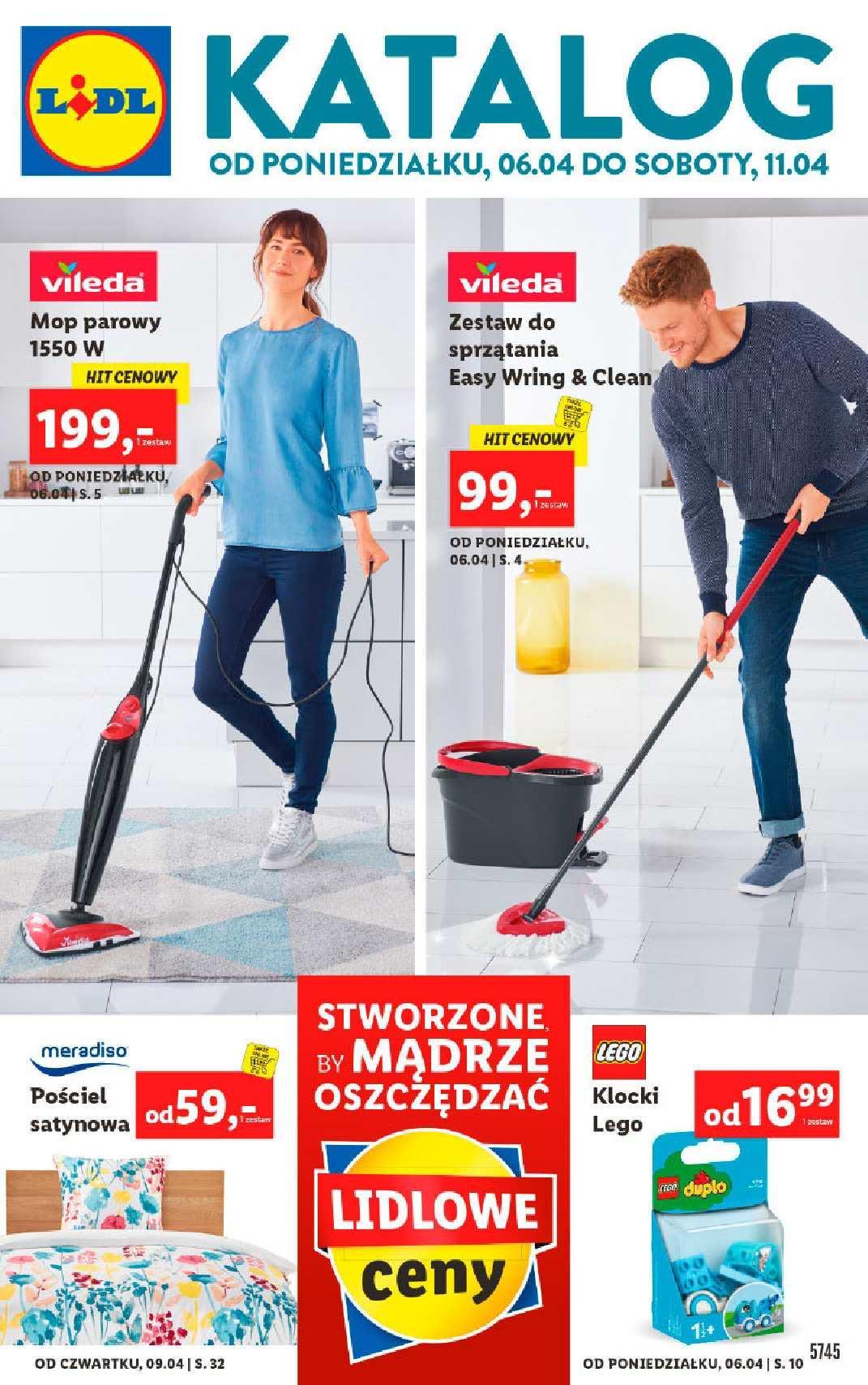 Gazetka promocyjna Lidl do 11/04/2020 str.1