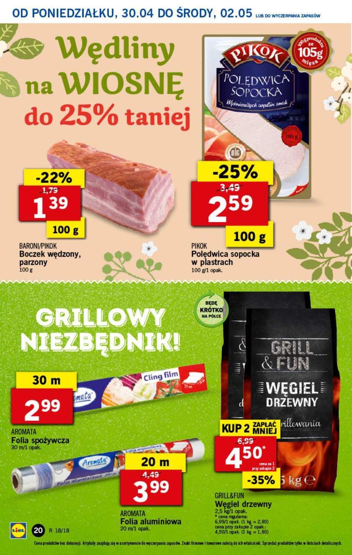 Gazetka promocyjna Lidl do 02/05/2018 str.19
