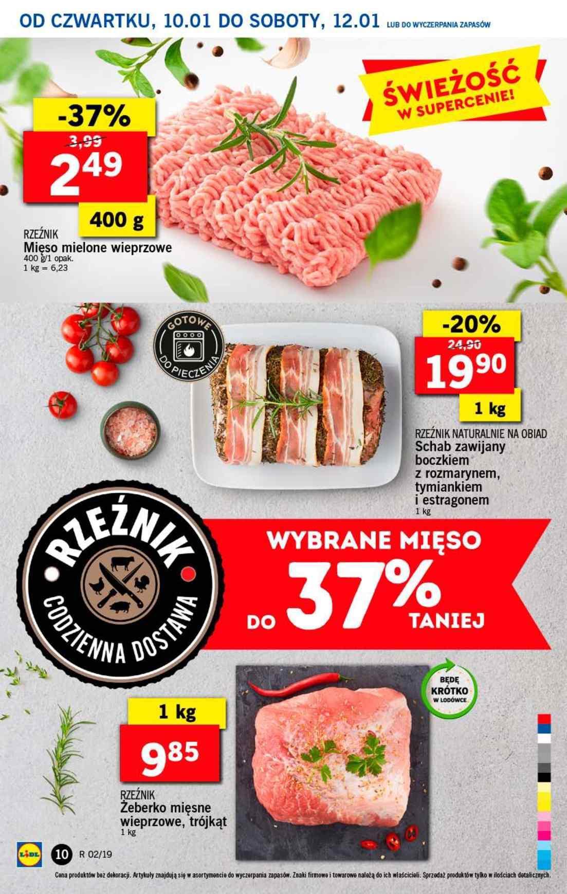 Gazetka promocyjna Lidl do 12/01/2019 str.10