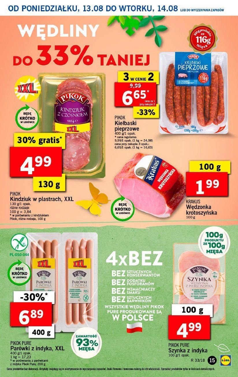 Gazetka promocyjna Lidl do 14/08/2018 str.14