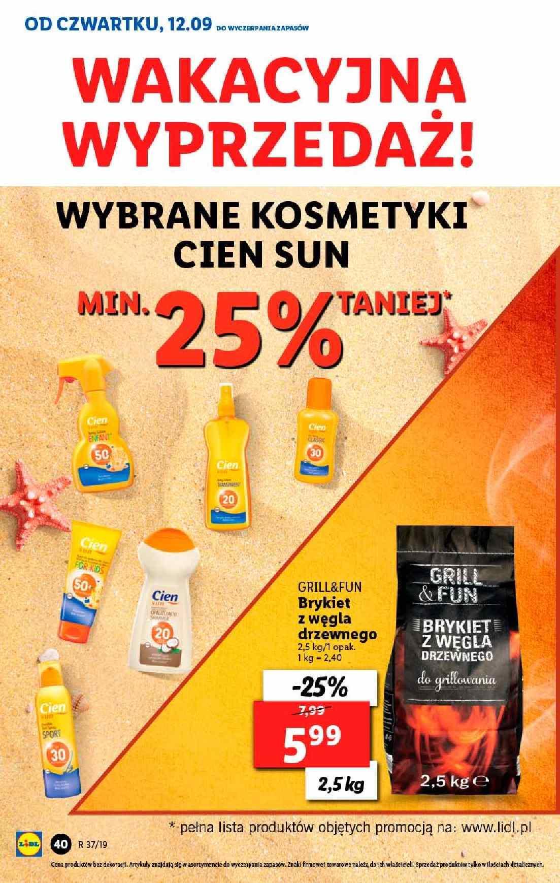 Gazetka promocyjna Lidl do 14/09/2019 str.40