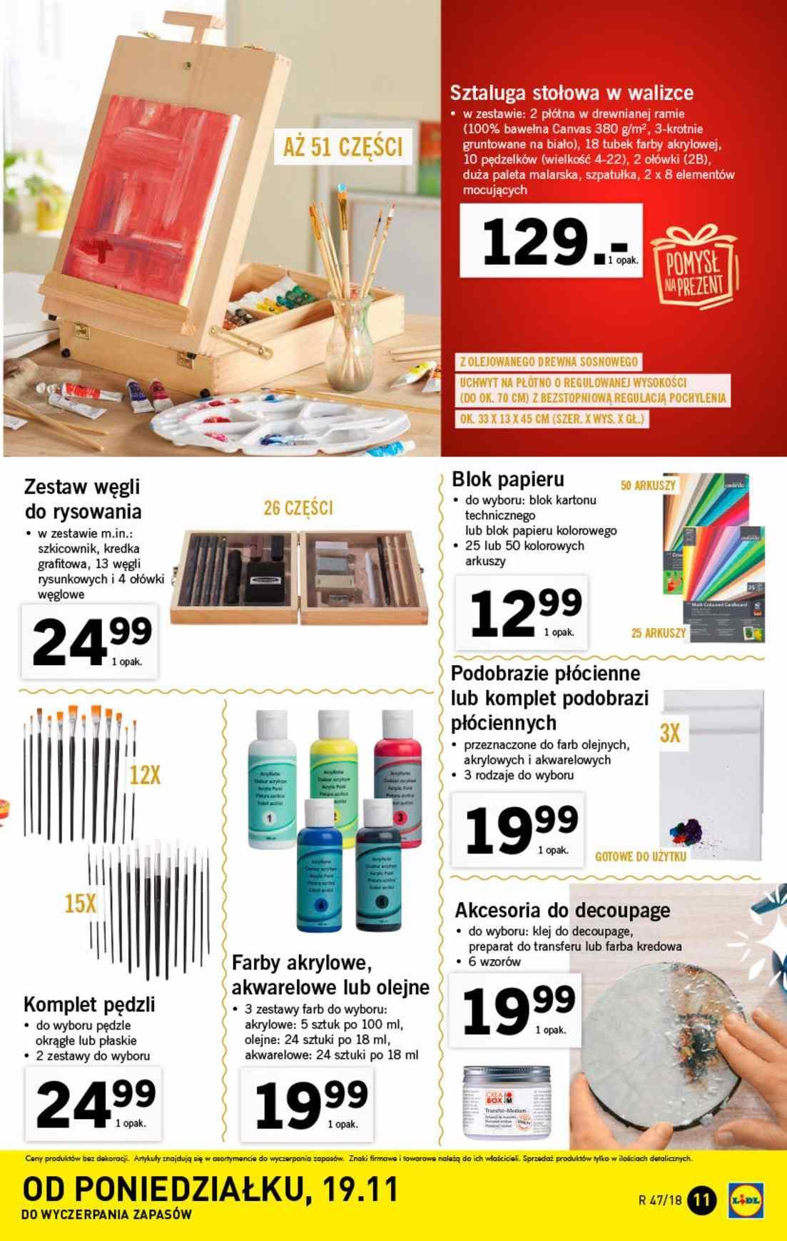 Gazetka promocyjna Lidl do 25/11/2018 str.11
