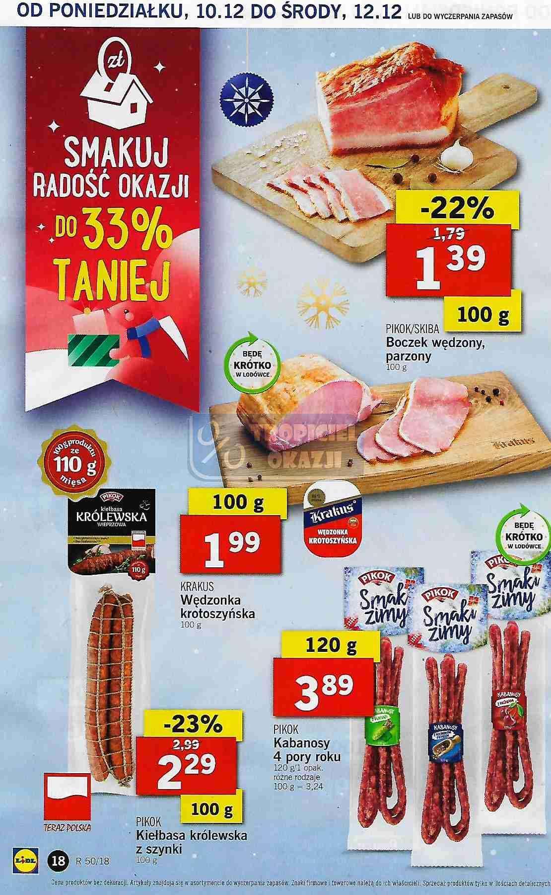 Gazetka promocyjna Lidl do 12/12/2018 str.18