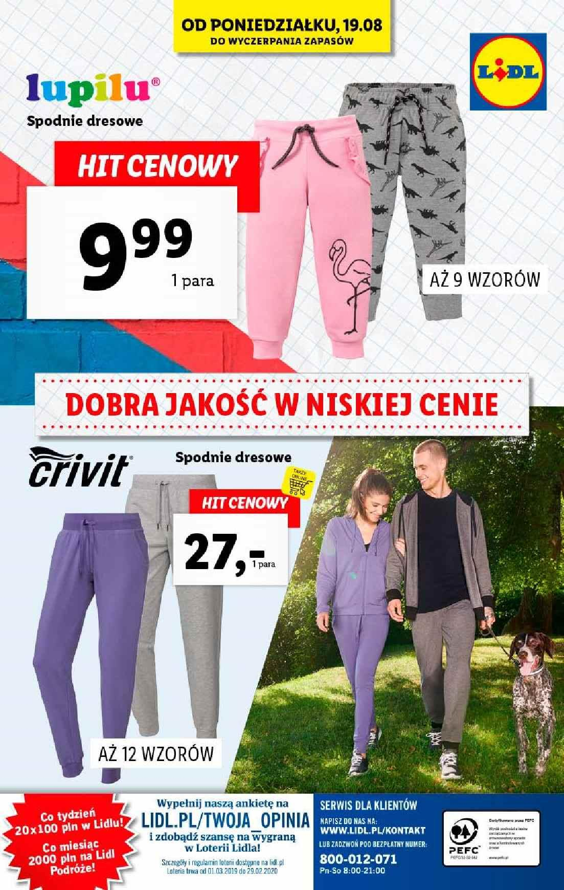 Gazetka promocyjna Lidl do 21/08/2019 str.32