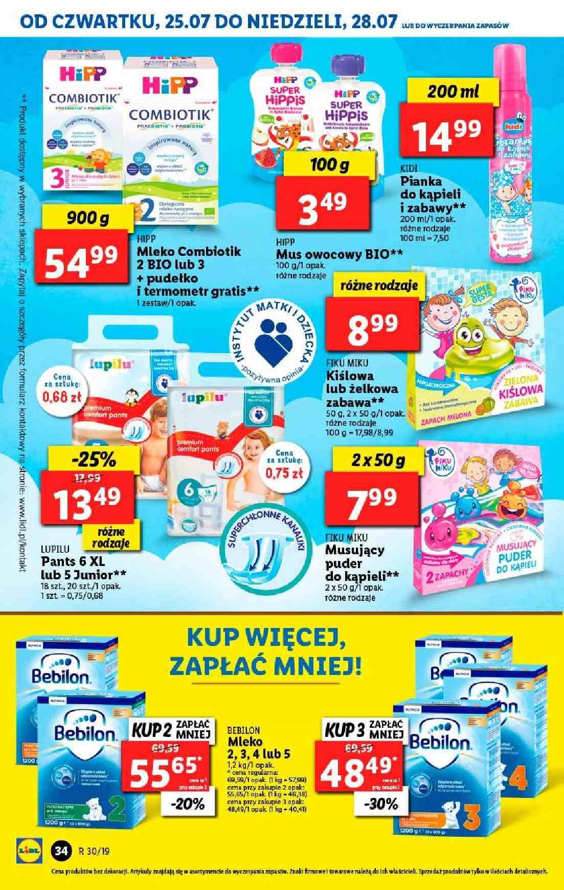 Gazetka promocyjna Lidl do 28/07/2019 str.34
