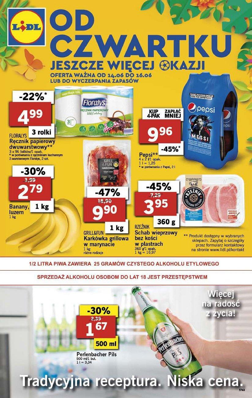 Gazetka promocyjna Lidl do 16/06/2018 str.1