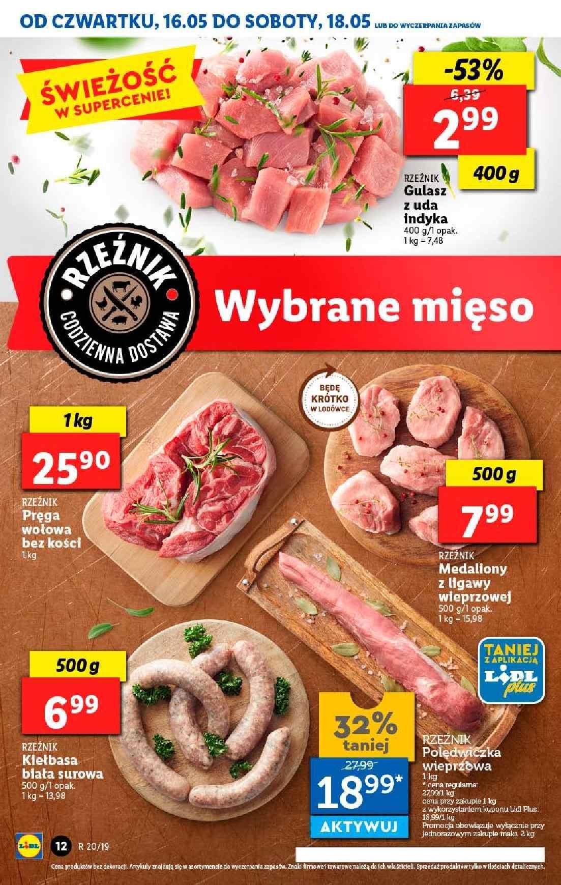 Gazetka promocyjna Lidl do 19/05/2019 str.12
