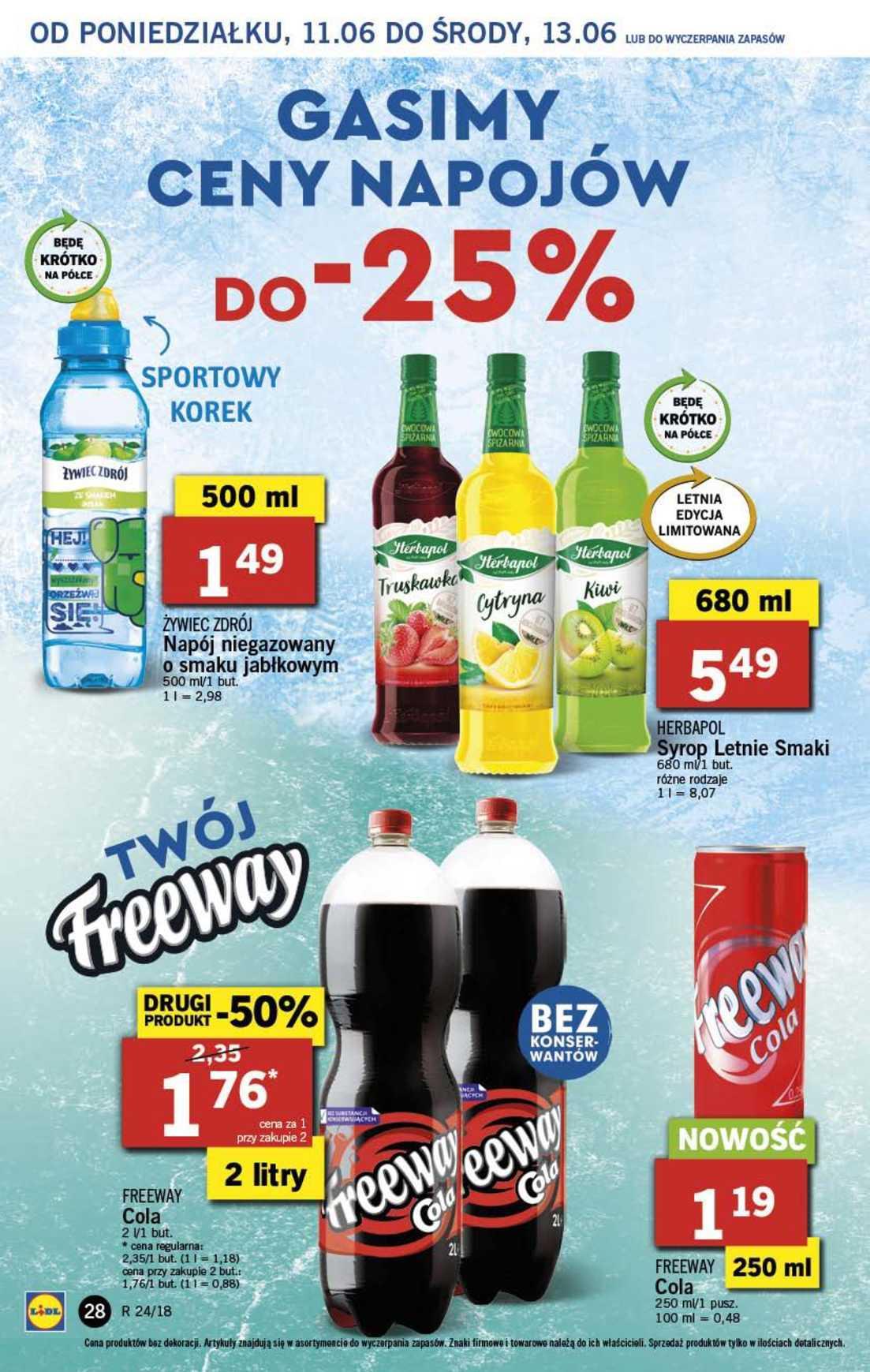 Gazetka promocyjna Lidl do 13/06/2018 str.28