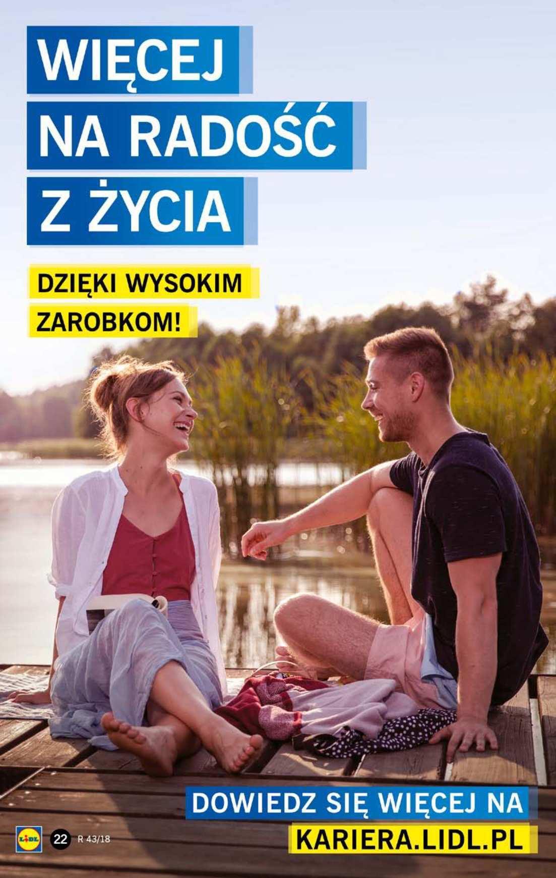 Gazetka promocyjna Lidl do 24/10/2018 str.22