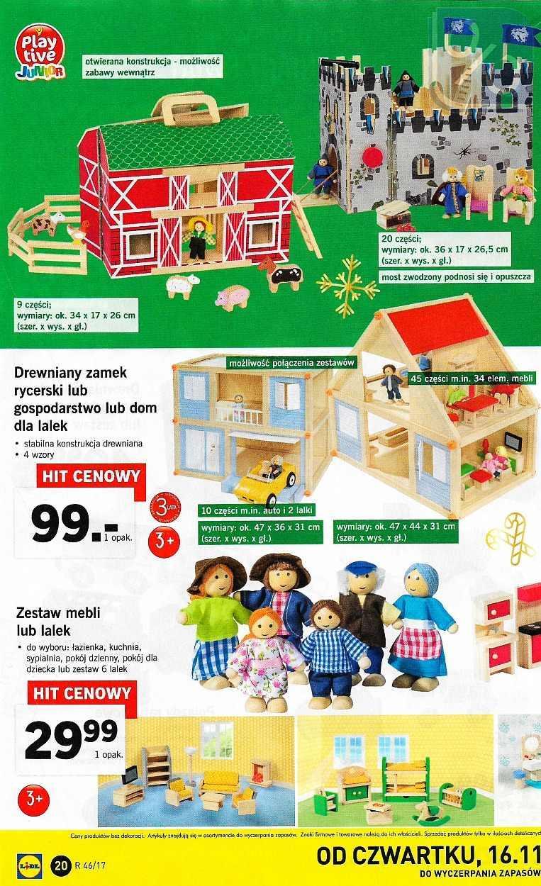Gazetka Promocyjna I Reklamowa Lidl Gazetka Zabawki Od 13 11