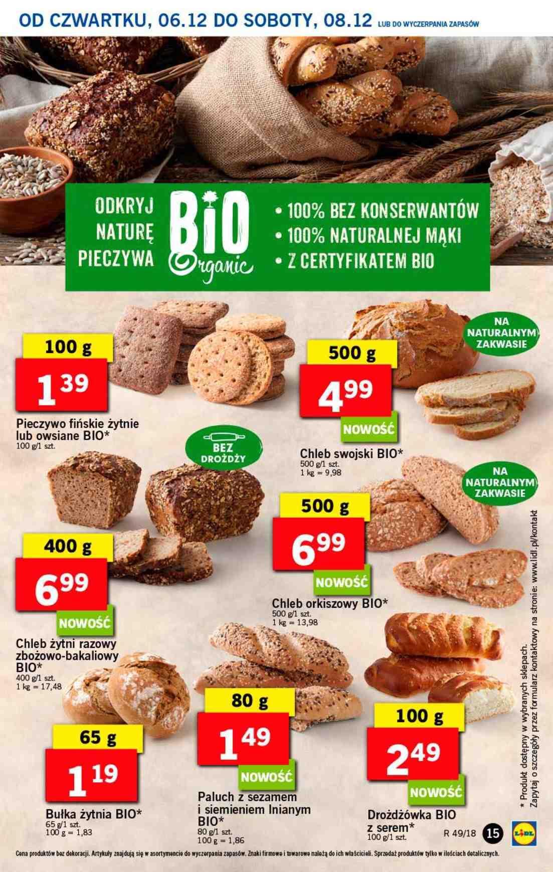 Gazetka promocyjna Lidl do 08/12/2018 str.15