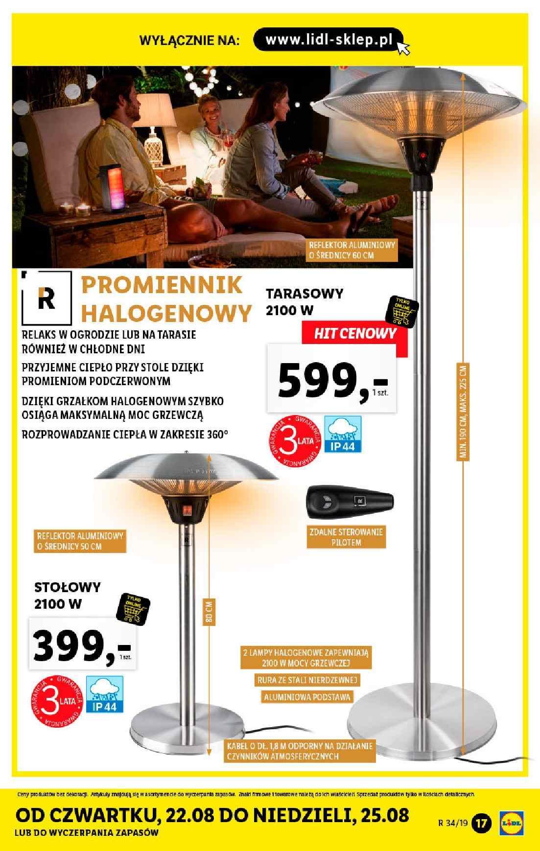 Gazetka promocyjna Lidl do 25/08/2019 str.16