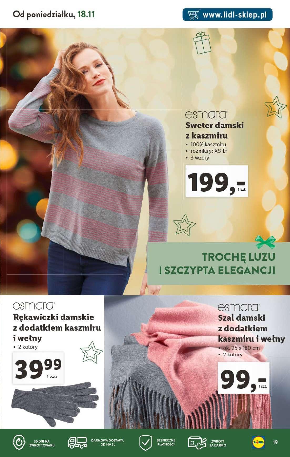 Gazetka promocyjna Lidl do 31/12/2019 str.19