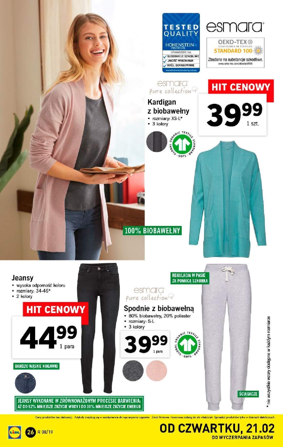Gazetka promocyjna Lidl do 24/02/2019 str.26