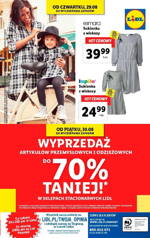 Gazetka promocyjna Lidl do 31/08/2019 str.42