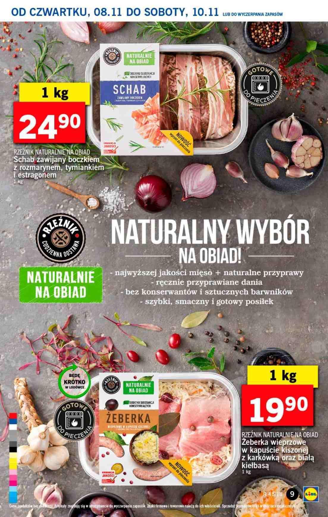 Gazetka promocyjna Lidl do 10/11/2018 str.9