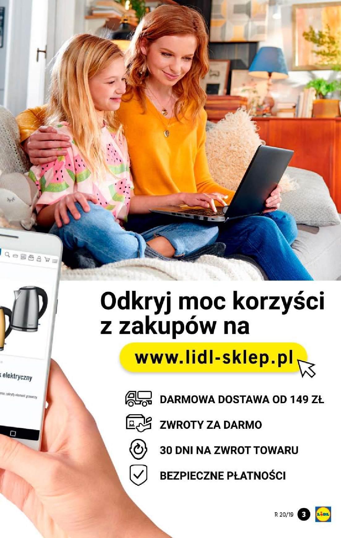Gazetka promocyjna Lidl do 19/05/2019 str.3