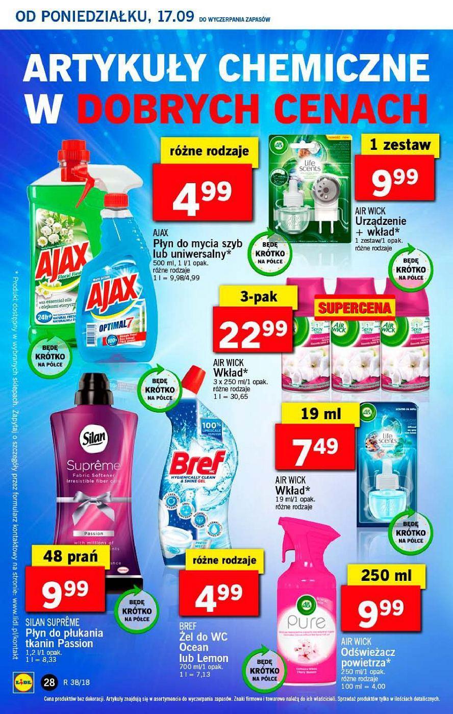 Gazetka promocyjna Lidl do 19/09/2018 str.28