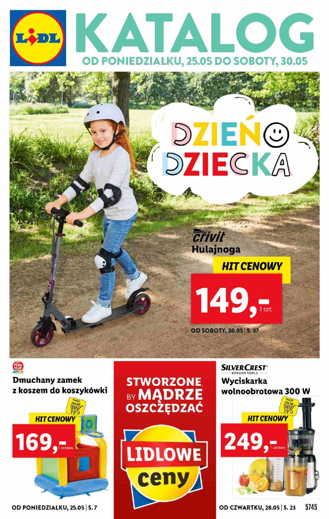 Gazetka promocyjna Lidl do 30/05/2020 str.1